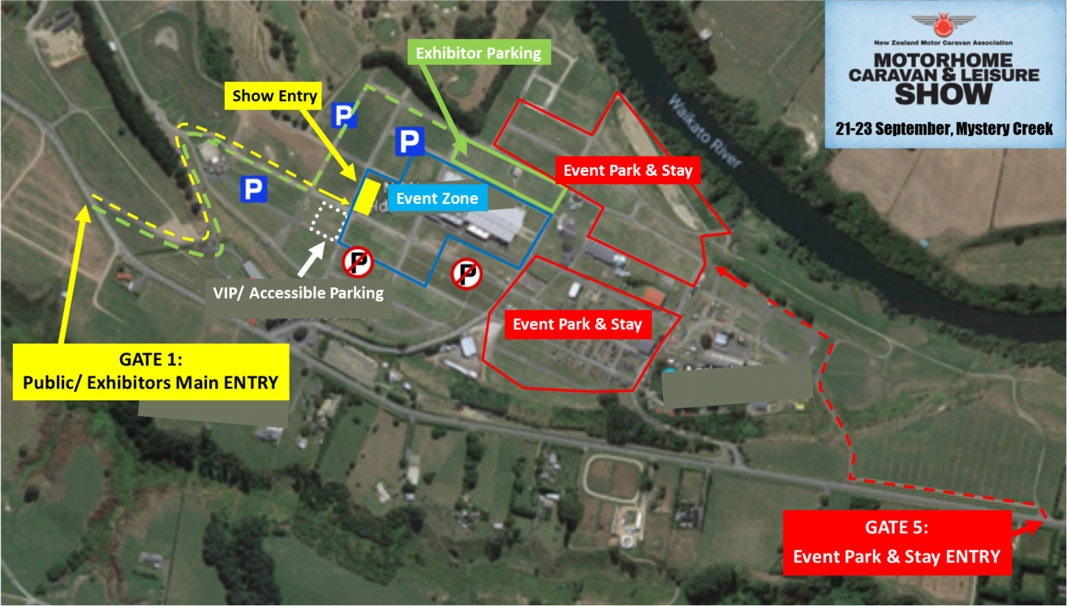 Event Overview Map 2018