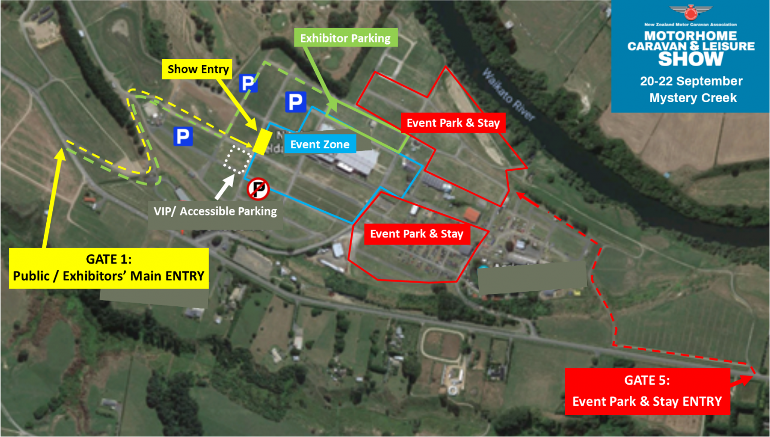 Event Overview Map 2019