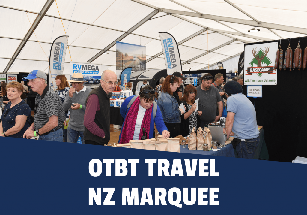 OTBT Travel NZ Marquee - Small